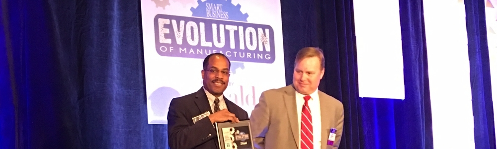 Smart Business Magazine's Evolution of Manufactruing Award